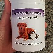 Polvo de Enzima Pancreática para perros y gatos x 250g