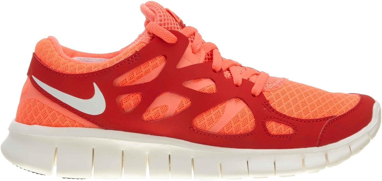 Nike Free Run+ 2 Womens443816 Bright Mango/Sail/Action Red