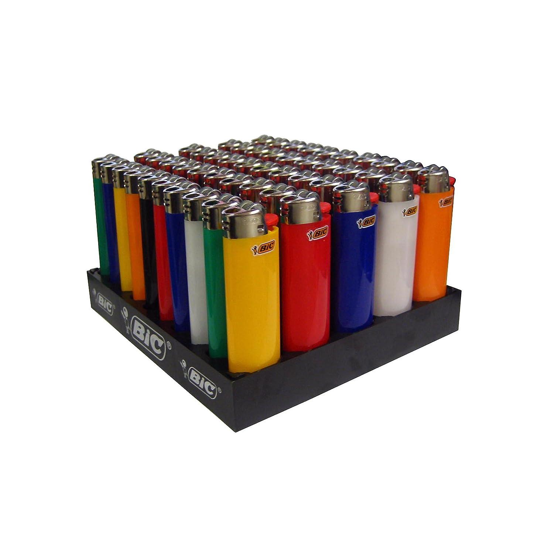 BIC ACCENDINO reib Rad Maxi, Neutro, colori assortiti, confezione da pezzi, 1er Pack (1X 50pezzi) 807975