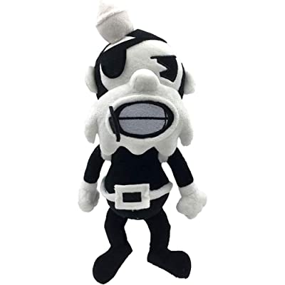 "Bendy and the Ink Machine Butcher Gang 7"" Collectable Plush Black: Toys & Games"