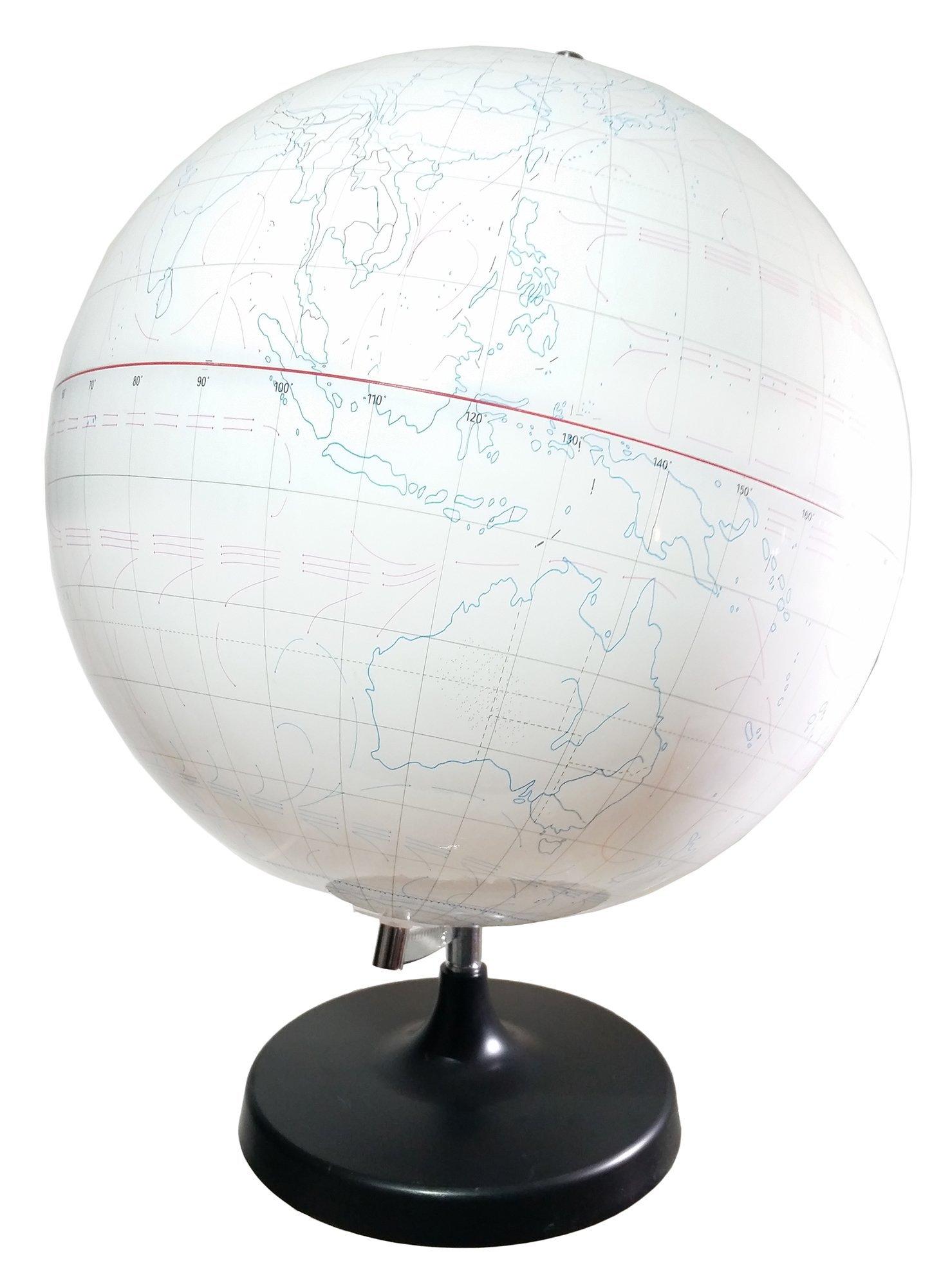 GSC International GLBWO-CS Whiteboard Globe (Case of 4)