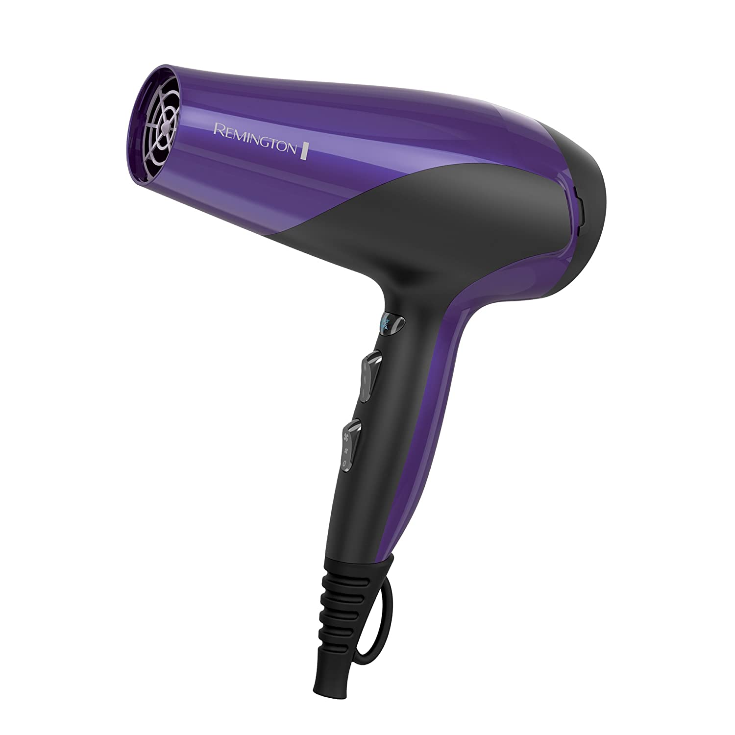 Remington Hair Dryer with Ionic + Ceramic + Tourmaline Technology, Purple, D3190