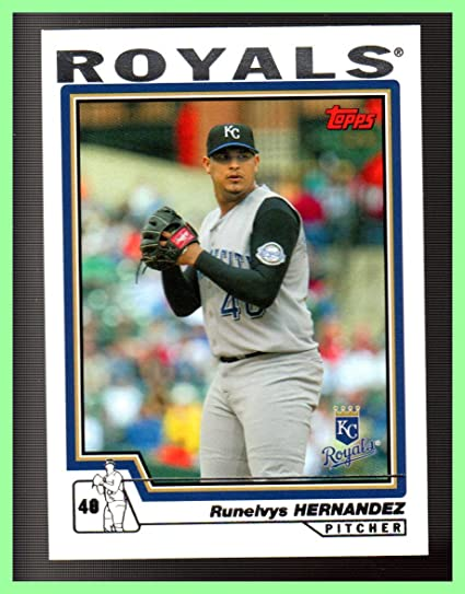 Amazon.com  2004 Topps  258 Runelvys Hernandez KANSAS CITY ROYALS  Sports  Collectibles 3419ece12