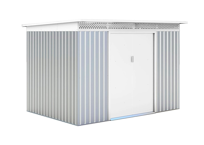 GARDIUN ripari in Metallo London argentoo Bianco 5,71 M² extrior – kis12136