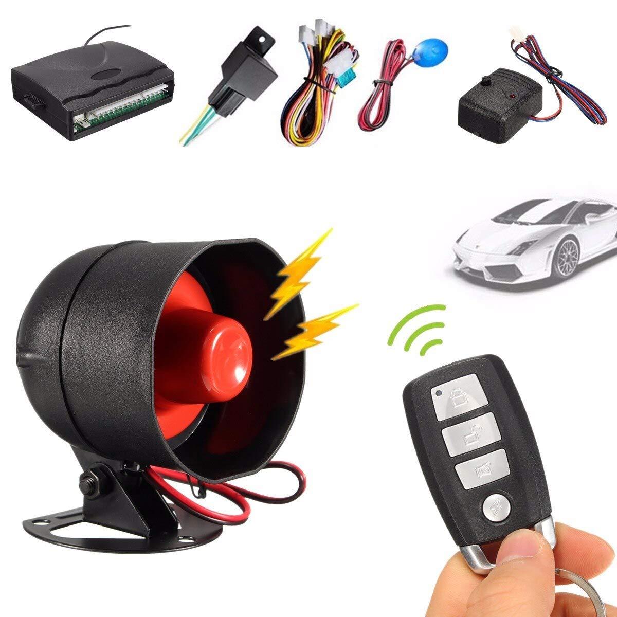 Amazon.com: 315MHz-433.92MHZ Sistema de alarma de seguridad ...