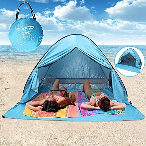 Carpentero Beach Huts Camping: Blue, 2 X 2 X 2 M: Amazon.co.uk