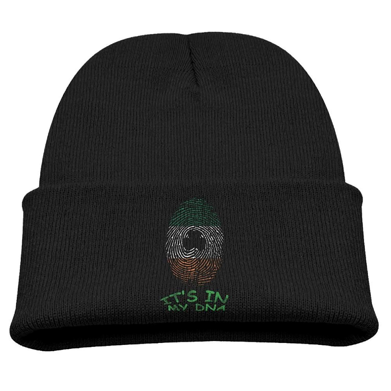 Amazon.com : Sandra .W Its in My DNA Irish Flag Clover Boys Girls Child Cute Knit Beanies Hats Skull Caps Warmer Black : Sports & Outdoors