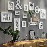 Europäische Holz Bilderwand Bilderrahmen Galerie Schlafzimmer Restaurant Wand  Sammlung ( Farbe : A )