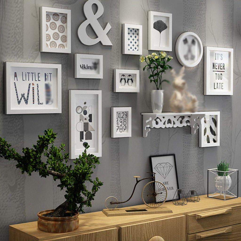 Amazon.de: Europäische Holz Bilderwand Bilderrahmen Galerie ...