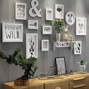 Wunderbar Europäische Holz Bilderwand Bilderrahmen Galerie Schlafzimmer Restaurant  Wand Sammlung ( Farbe : A )