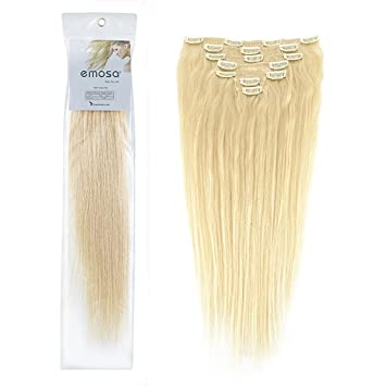 Amazon emosa luxury 100 real remy human hair extensions emosa luxury 100 real remy human hair extensions blonde hair dye613 blonde pmusecretfo Image collections