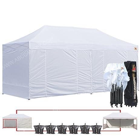 ABCCANOPY 10 X 20 Ez Pop up Canopy Tent Commercial Instant Gazebos with 9 Removable Sides  sc 1 st  Amazon.com & Amazon.com : ABCCANOPY 10 X 20 Ez Pop up Canopy Tent Commercial ...