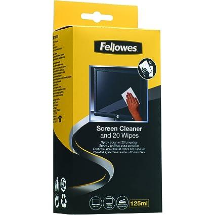 Fellowes - Toallitas limpiadoras