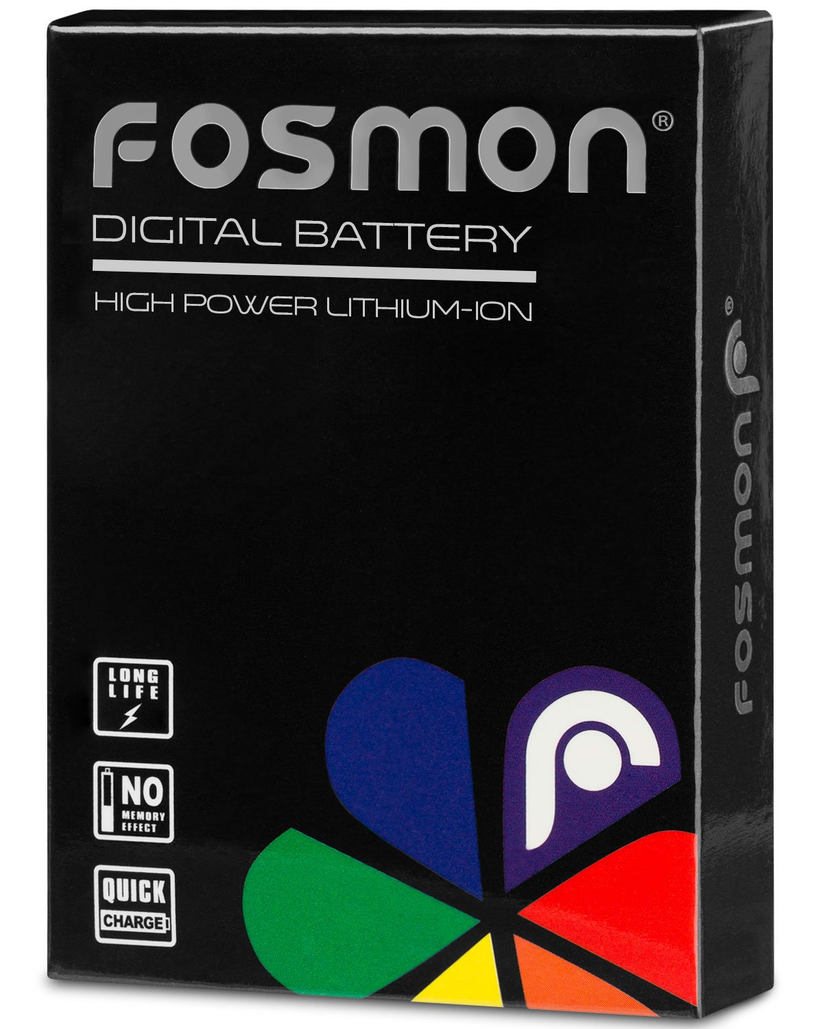 G15 1200 mAh 7.4V High Capacity NB-10L Replacement Li-ion Battery Pack Compatible with Canon PowerShot G1 X SX40 HS G16 SX50 HS Fosmon 2-Pack