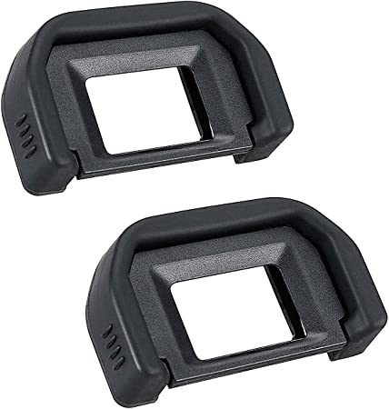 2X Copa ocular de caucho Ocular Visor para Canon EOS 200D 350D 400D 450D 500D 600D