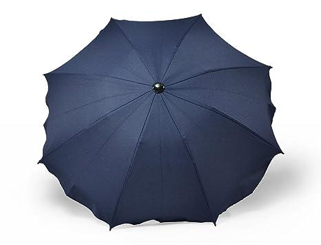Sombrilla y paraguas universal para carros y sillas de bebé, con soporte universal, protección contra rayos UV 50+ Granate