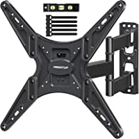 MOUNTUP TV Wall Mount, Full Motion Tilting TV Mount Bracket for Most 26-55 Inch Flat Curved TVs with Articulating Arms…
