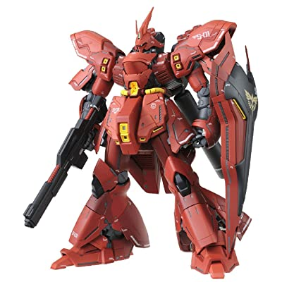 Bandai 5055457 Msn-04 Sazabi (Ver. Ka) MG 1/100 Model Kit, from Char' Counterattack: Toys & Games