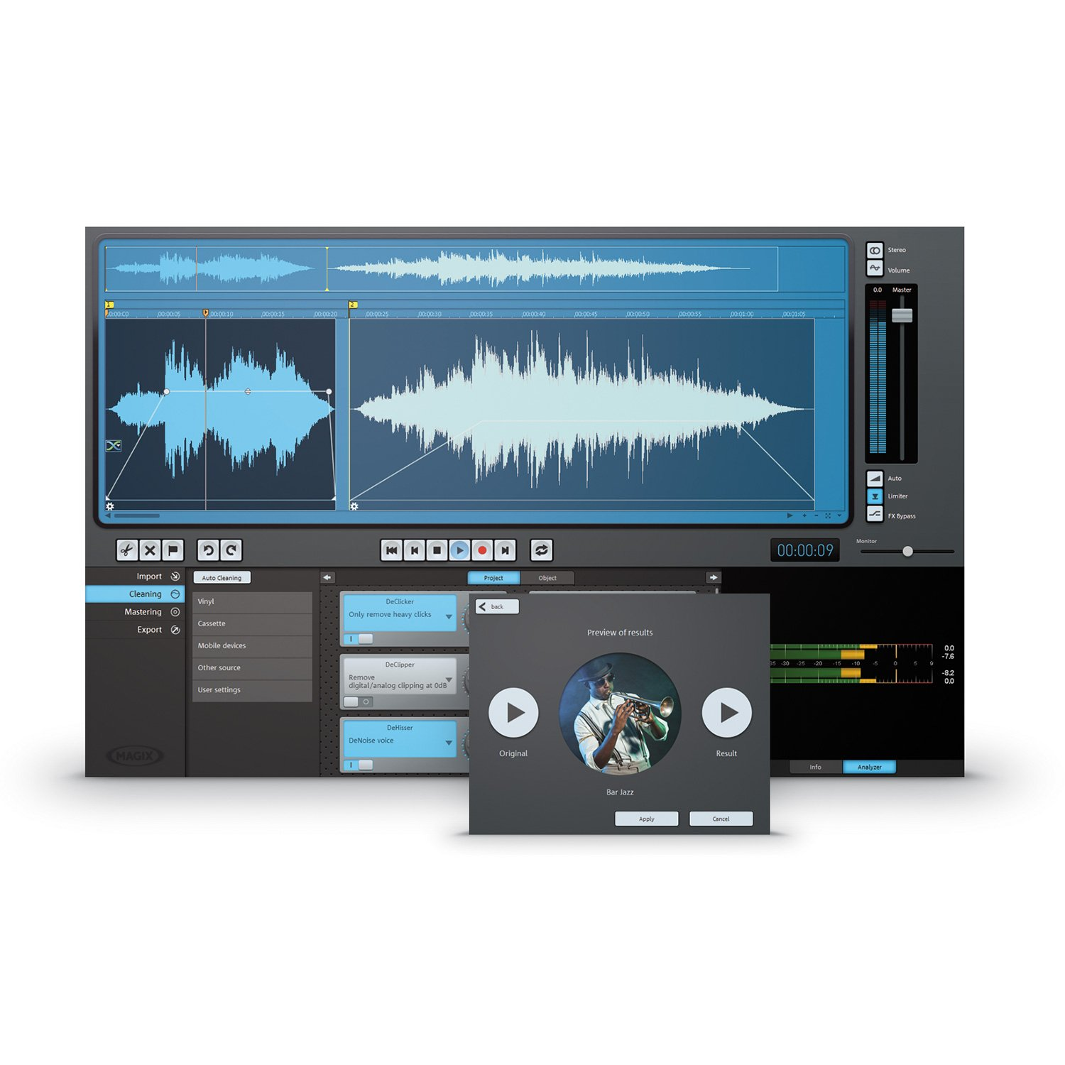 MAGIX Audio Cleaning Lab 2014 [Download] by MAGIX