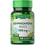 Ashwagandha Capsules   920 mg   90 Count   Non-GMO & Gluten Free Supplement   by Nature's Truth