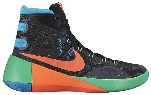 8261d087dd7e ... low cost nike hyperdunk 2015 premium prm men basketball shoes new black  orange blue green 12.5