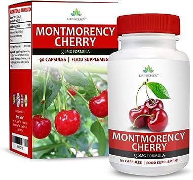 Cápsulas de Cereza de Montmorency - Extracto de Alta Concentración ...