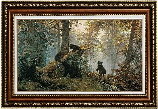 Eliteart-Morning Black Bear