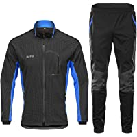 Fahrradjacke Vlies Warm Fahrrad Bekleidung Winddicht Wasserdicht Weich Mantel