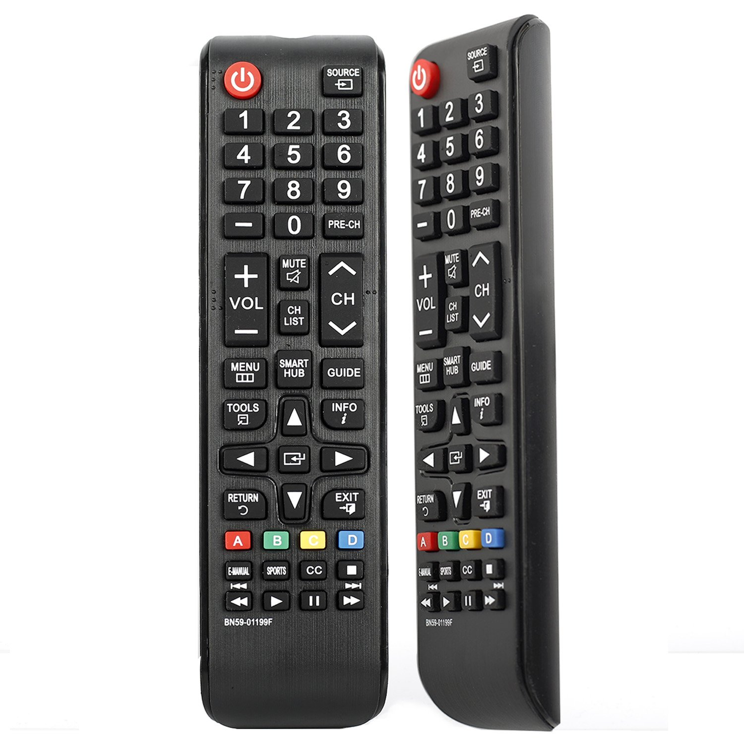 Universal Remote Control for Samsung Smart LED TV LCD HDTV Replacement (BN59-01199F)