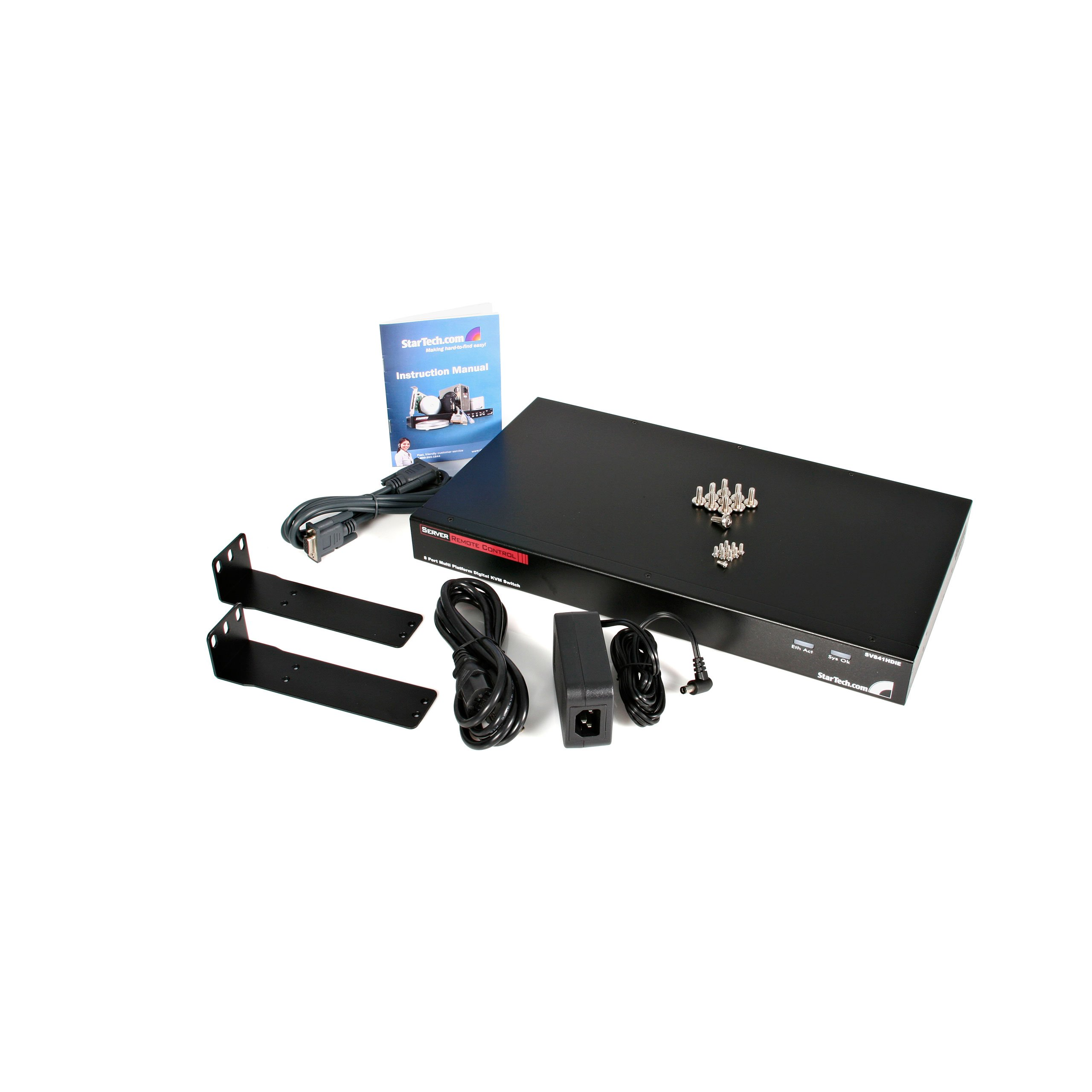 StarTech.com 8 Port Rack Mount USB PS/2 Digital IP KVM Switch (SV841HDIE) by StarTech (Image #3)