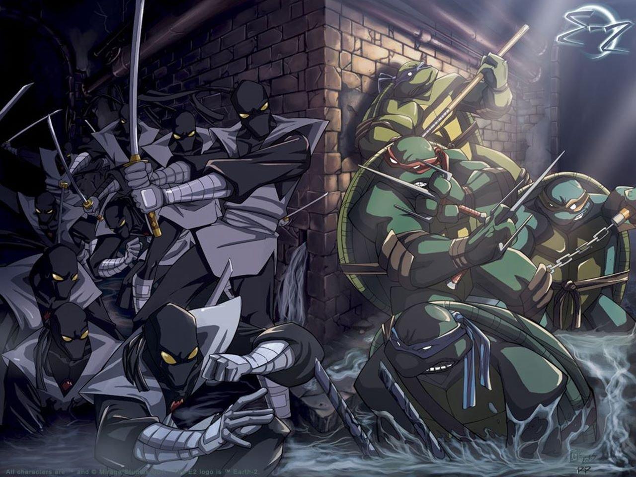 Posterhouzz Comics Teenage Mutant Ninja Turtles Hd Wallpaper