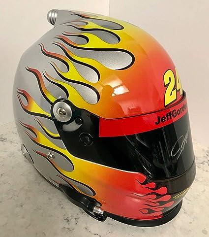 Other Autographed Nascar Items Learned Nascar Sprint Cup #24 Jeff Gordon Signed Autographed Pepsi Mini Helmet Proof Coa Sports Mem, Cards & Fan Shop