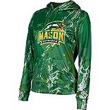 School Spirit Sweatshirt ProSphere George Mason University Girls Pullover Hoodie Spray Over