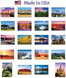 50 state postcards set