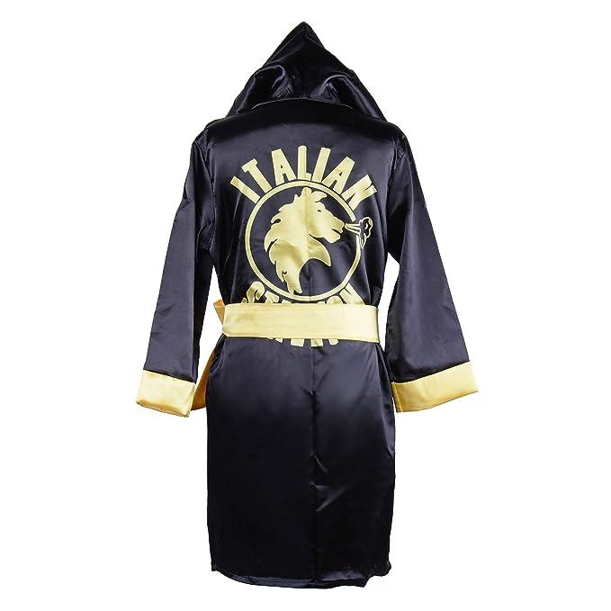 5b228ddf7b91 Children Costume Classic Movie Clothes Apollo American Flag Boxing Robe  Hooded Shorts Kids Italian Stallion Suits