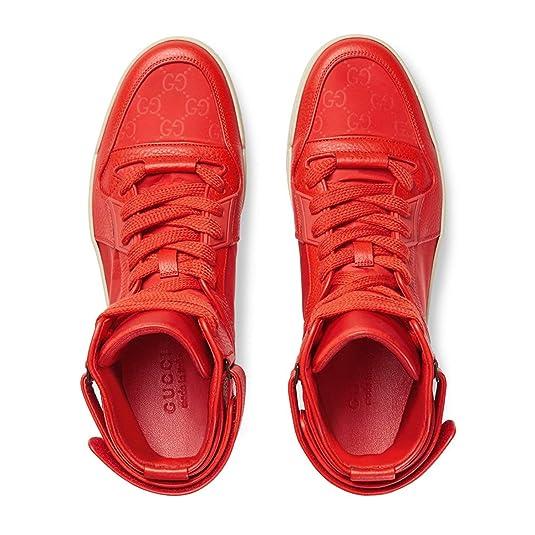 4e1c9aab2ae Amazon.com  Gucci Men s Basketball High-top Sneaker