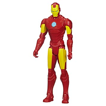 Marvel Avengers Titan Hero Serie Iron Man - Figura: Amazon ...
