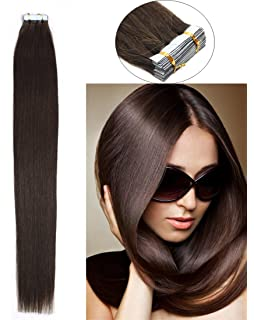 Qwik x 100 percent indian remi human hair tape hair extensions yotty human hair extensions tape in seamless skin weft double drawn remy hair pmusecretfo Images