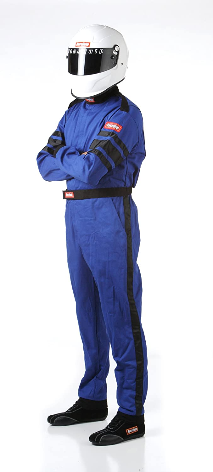 RaceQuip 110012 110 Series Small Red SFI 3.2A//1 Single Layer One-Piece Driving Suit