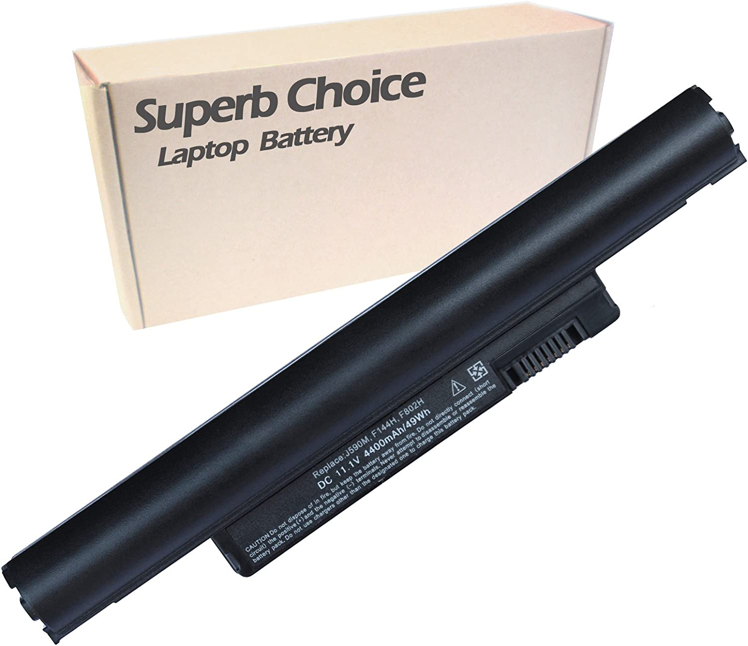 Superb Choice Battery Compatible with DELL Inspiron Mini 10 1011 10v 312-0867 312-0931