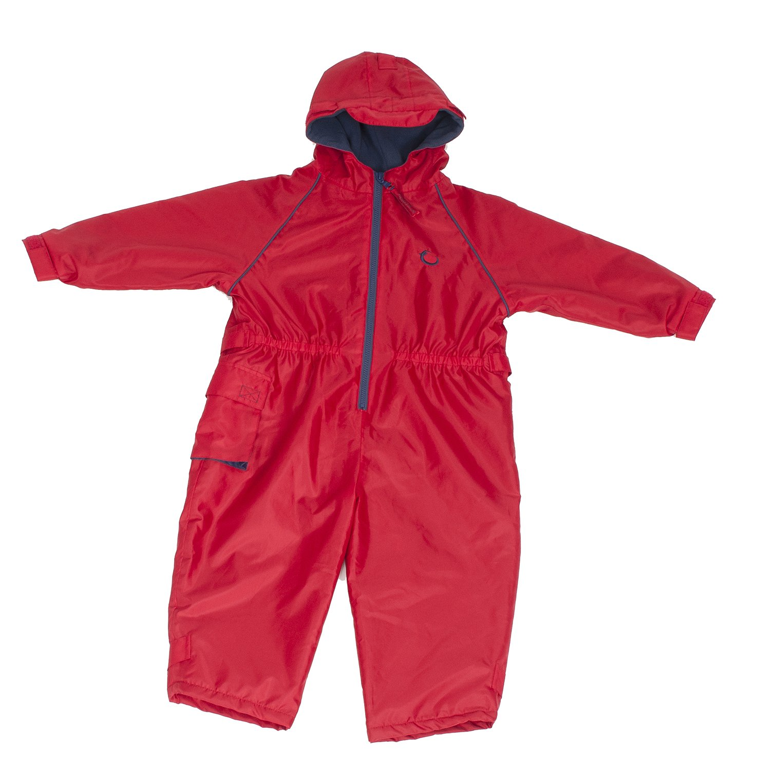 Hippychick Fleece Lined Waterproof All-in-One Suit - Red, 12-18 Months HWNARF12-18 5060248816738
