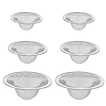 Amazon.com: Colador de fregadero, 6 unidades de filtro de ...