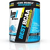 BPI Sports Best BCAA Shredded Caffeine Free Thermogenic Recovery Formula for Lean Muscle Growth, Snow Cone, 10.58 Ounce