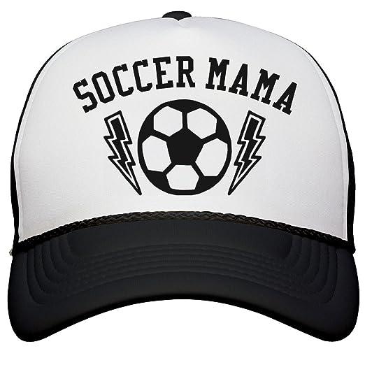 15fa0594420 Customized Girl Soccer Mom Gifts for Mom Hat  Snapback Trucker Hat  White Black