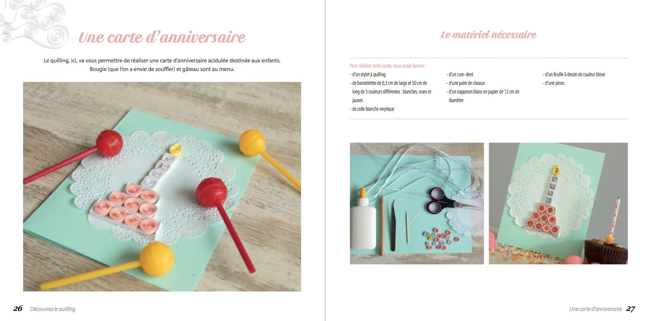 Découvrez Le Quilling Emmanuelle Calatayud 9782814103429 Books