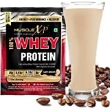 Musclexp 100% Whey Protein With Digestive Enzymes - 1 Serving (33G), Cafe Mocha