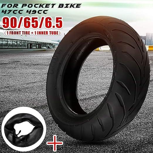 Mayouth Reifen Vorne Hinten Schlauch 90 65 6 5 110 50 6 5 Reifen Rad Wiedereinbau Für 47cc 49cc Mini Pocket Bike Auto