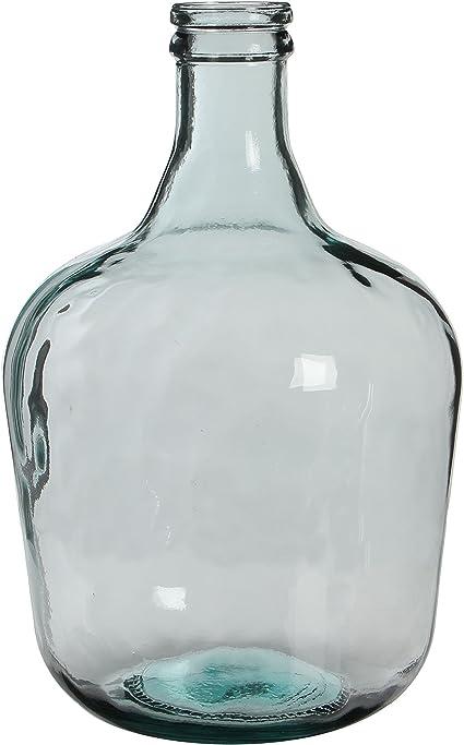 Oferta amazon: MICA Decorations Diego Botella de Cristal/jarrón, H. 42 cm D. 27 cm