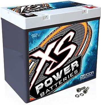 X.S. Power D5100R XS Series 12V 3, 100 Amp A.G.M. High Output Battery