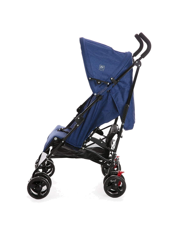 Silla de paseo ligera Avenue ZY Safe, para bebes hasta 15kg, solo 7.15 Kg - Zippy (Azul): Amazon.es: Bebé